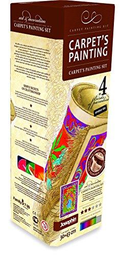 Small Foot Company - 8725 - Kit De Loisirs Créatifs - Bricolage - Tapis À Colorier - Papillon