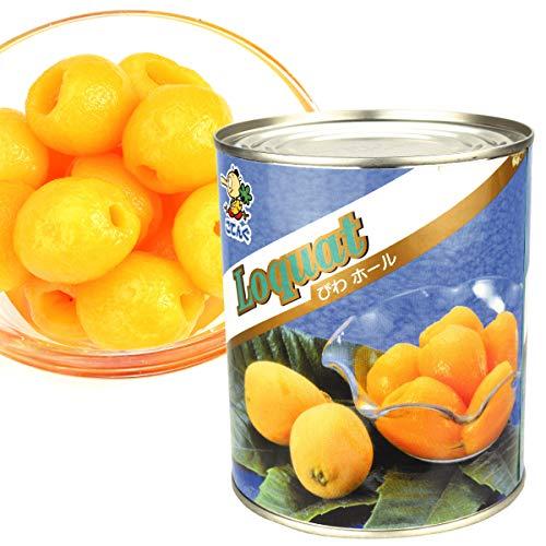 国華園 びわ・2号缶 1缶1組 (内容総量850g) ビワ 缶詰