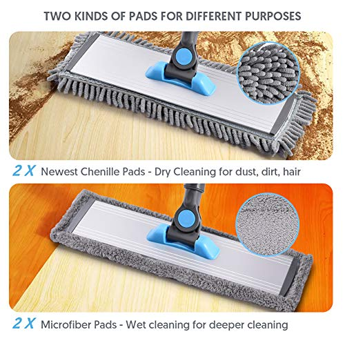 Mangotime Microfiber Floor Hardwood Mop
