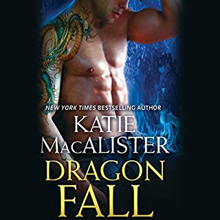 Dragon Fall audiobook cover art