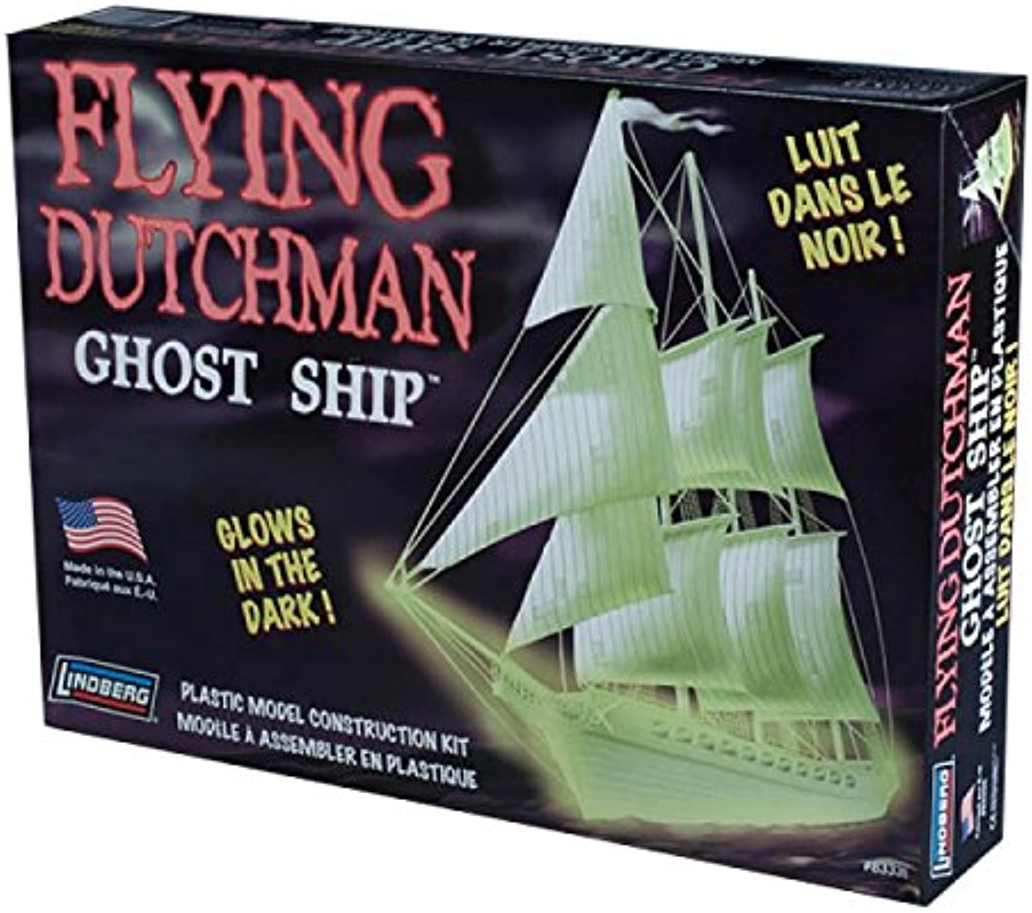 Lindberg 1 130 Scale Flying Dutchman Ghost Ship Toy