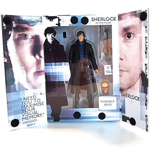 Sherlock Figurine à échelle de 12,7 cm