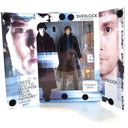Sherlock SHK01344 Spielzeug, Mehrfarbig, 12 cm