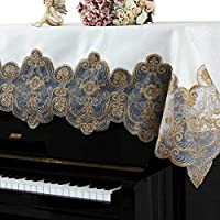 アップライトピアノ おしゃれ レース クラシック花柄 トップカバー ピアノカバー 防塵カバー 北欧 インテリア飾り 宮廷風 高貴 unusual