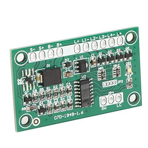Bajo consumo de energía 4 salidas Módulo de control de luz estroboscópica de advertencia Módulo de control de lámpara solar SC07D Placa de circuito de semáforo solar para señales de tráfico