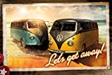 Volkswagen - Camper Call Lets Get Away - VW Bus Klassiker