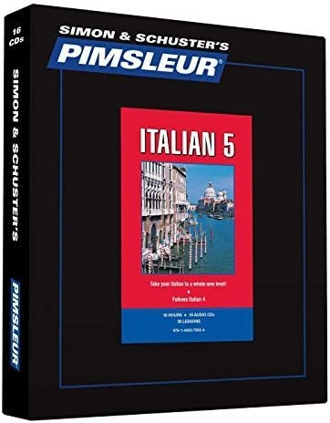 Pimsleur Italian Level 5 CD Learn to Speak and Understand Italian with Pimsleur Language Programs product image