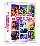 PACK 2020: DREAMWORKS (10 DISCOS) (DVD)