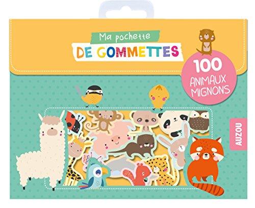 MA POCHETTE DE GOMMETTES - 100 ANIMAUX MIGNONS