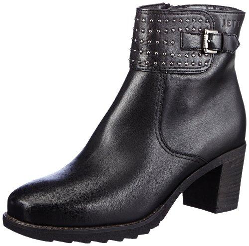 JETTE Miss Hamilton Anklezip 4030001339, Damen Stiefel, Schwarz (Black 900), EU 38 (UK 5) (US 5)