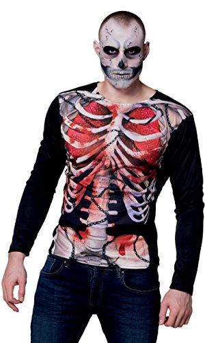 Boland 84314 - Fotorealistisches Shirt Skelett, Sonstige Spielwaren