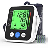 Blood Pressure Monitor, AUCEE Digital Automatic Upper Arm Blood Pressure Monitor and Heart