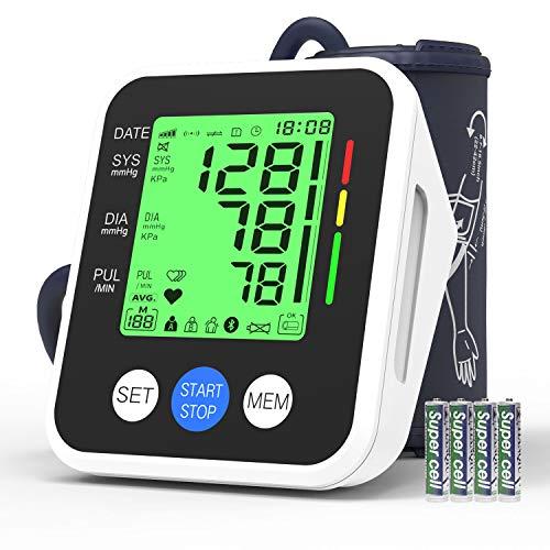 Blood Pressure Monitor, AUCEE Digital Automatic Upper Arm Blood Pressure...
