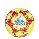adidas Capitano Soccer Ball Solar Yellow/Football Blue/Active Red 3