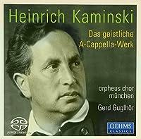 Orpheus Chor Munchen by H. KAMINSKI (2013-08-05)