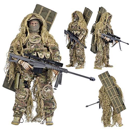 HYZM 1/6 Figur Soldat, 12 Zoll Beweglich Soldaten Modell Militär Figur Actionfiguren Spielzeug - All Gelände scharfschütze