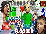 Baldi's Basics Full Game! Flooded and Foggy Hallways
