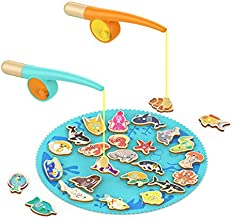 TOP BRIGHT Toddler Fishing Game Gifts for 2 3 4 Year Old Girl and Boy Toys Birthday Presents