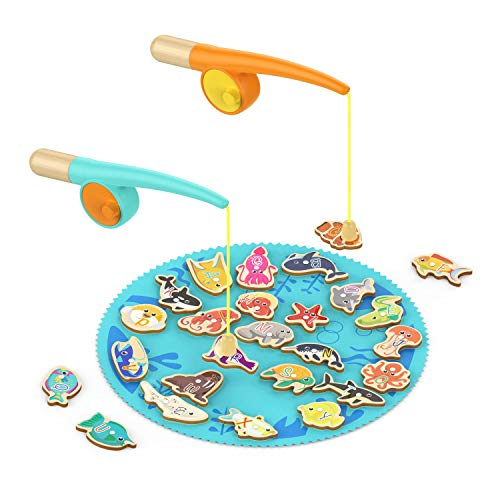 TOP BRIGHT Toddler Fishing Game for 2 Year Old, Kids Fishing Games for 2 Year Olds, Toddler Birthday Gift for Two Year Old Boy Girl