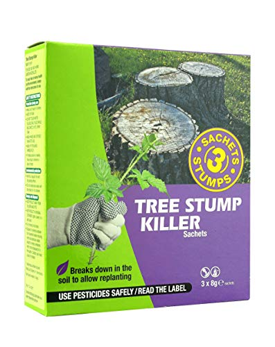 Bayer Garden Tree Stump Killer Sachets - 3 x 8 g