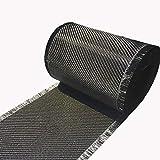 4 in x 5 FT - Carbon Fiber FABRIC-2x2 Twill...