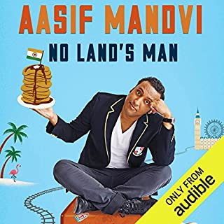 No Land's Man     A Perilous Journey through Romance, Islam, and Brunch              By:                                                                                                                                 Aasif Mandvi                               Narrated by:                                                                                                                                 Aasif Mandvi                      Length: 4 hrs and 23 mins     1,083 ratings     Overall 4.1