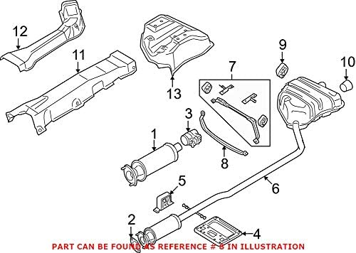Genuine OEM Exhaust Bracket Luxury goods For Mini Over item handling ☆ R50 Cooper R56 200 Base R52
