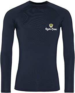 (L) GymCroc Gym Clothes for Men – Cool Gym Wear Long Sleeve T Shirt – Sportswear Top in Cool Wicki Fabric – Neoteric™ Fabr...