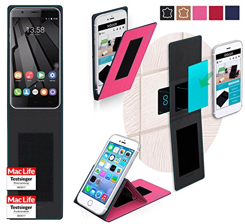 Hülle für Oukitel U7 Plus Tasche Cover Hülle Bumper | Pink | Testsieger