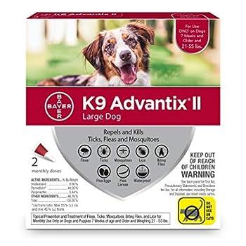 Bayer Advantage K9 Advantix Red Large Dog 2 Pack