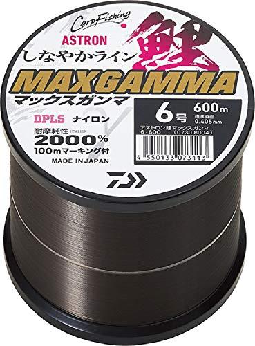 ダイワ(DAIWA) ナイロンライン アストロン鯉 MAXガンマ 8号 600m タニシブラック