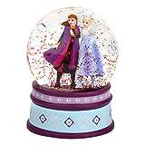 MMmedia GmbH Die Eiskönigin 2 / Frozen 2 eine Schneekugel Motiv ELSA und Anna