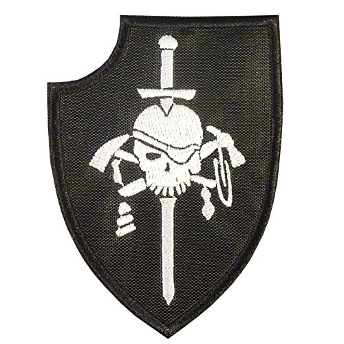 2AFTER1 US Navy Seals Silver Squadron Kopfjager DEVGRU ST6 NSWDG Morale Sew Iron on Patch