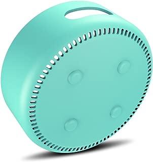 AWINNER Silicone Case for Amazon Echo Dot 2nd (Cyan)