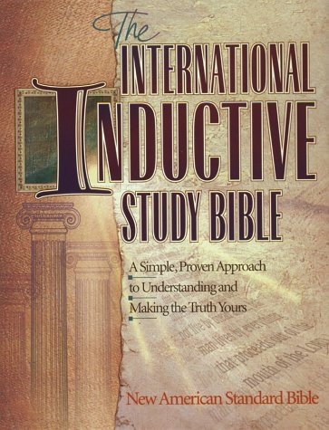 Compare Textbook Prices for International Inductive Study Bible: New American Standard Bible  ISBN 9781565070912 by Harvest House Publishers