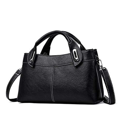 Defect Damen Handtaschen Wahre PU Softleder einzelne schrägen kleine Umhängetasche 30 * 12 * 18 cm Quadratisch