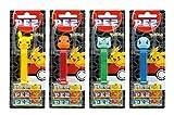 PEZ Spender Set Pokemon (4 Spender mit je 3 PEZ Bonbons á 8,5g) + 2 Nachfüllpacks (8 PEZ Bonbons á 8,5g)