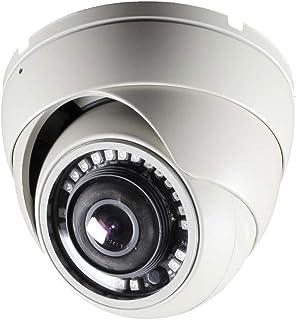 CCTV Camera Pros HD-D180 180 Degree Dome Security Camera   Full HD Over Coax   HD-TVI AHD HDCVI CCTV 1080p   2MP Wide Angle Indoor Outdoor Home Surveillance Camera