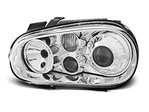 1 paar koplampen – Golf 4 97-03 look R32 chroom W61