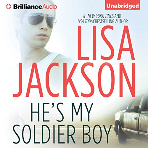 He's My Soldier Boy audiobook cover art