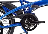 Tern Faltrad Vektron Q9 Fahrrad E-Bike 9 Gang Blau Alu 25 km/h Kettenschaltung Shimano 36V 250W, CB19EHPC09HLRSL23 - 3