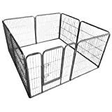 Ellie-Bo Heavy Duty Puppy Exercise Play/Whelping Pen