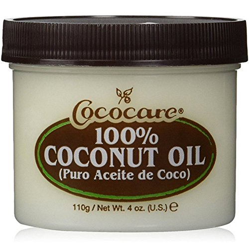 Cococare Coconut Oil 100% Pure 4 Oz (Pack of 2)