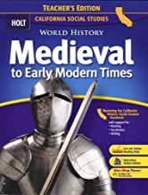 World History:Medevl-Early Mod Times (CA) (TE)