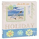 quantio HENZO Album Photo Bottle - 80 Pages - 30,5 x 30 cm - Album Photos de Vacance - Photos de Voyages