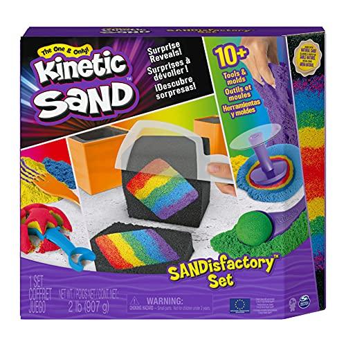 Kinetic Sand Sandisfactory Set für Indoor Sandspiel