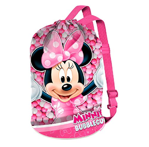 Minnie Mouse Bubblegum strandtas, 40 cm, roze