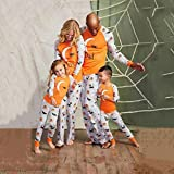 Pijamas Mujer Camisón Conjuntos De Pijamas De Halloween Familiares Algodón Padre Madre Hija Hijo Ropa De Dormir con Estampado Niños Adultos Ropa De Dormir De Navidad 2T Multi