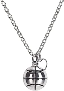 basketball necklaces for girls