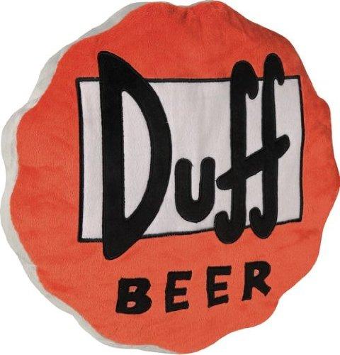 United Labels 0199441 Los Simpson - Cojín con diseño de tapón de Cerveza Duff